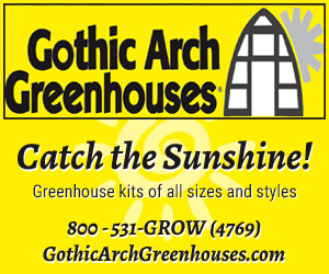 Gothic Arch Greenhouses - All sizes and styles