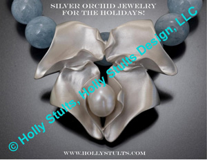 Silver Orchid Jewelry