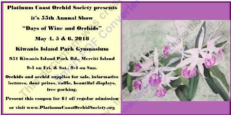 Platinum Coast Orchid Society